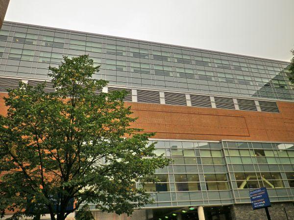 Rhode Island Hospital Bridge Building - Massey's Plate Glass