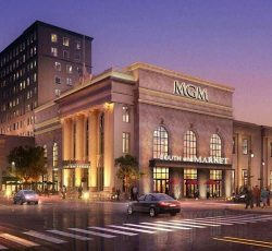 MGM Springfield<br>Podium Hotel Casino