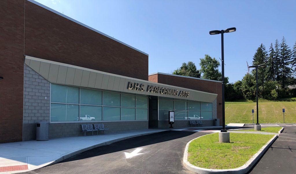Danbury High School - Massey's Plate Glass & Aluminum Inc